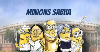 Minions As Indian Politicians