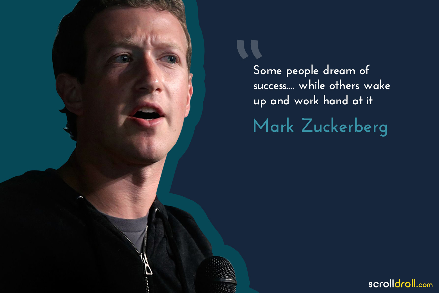 Powerful Quotes By Successful People-quote by mark zuckerberg