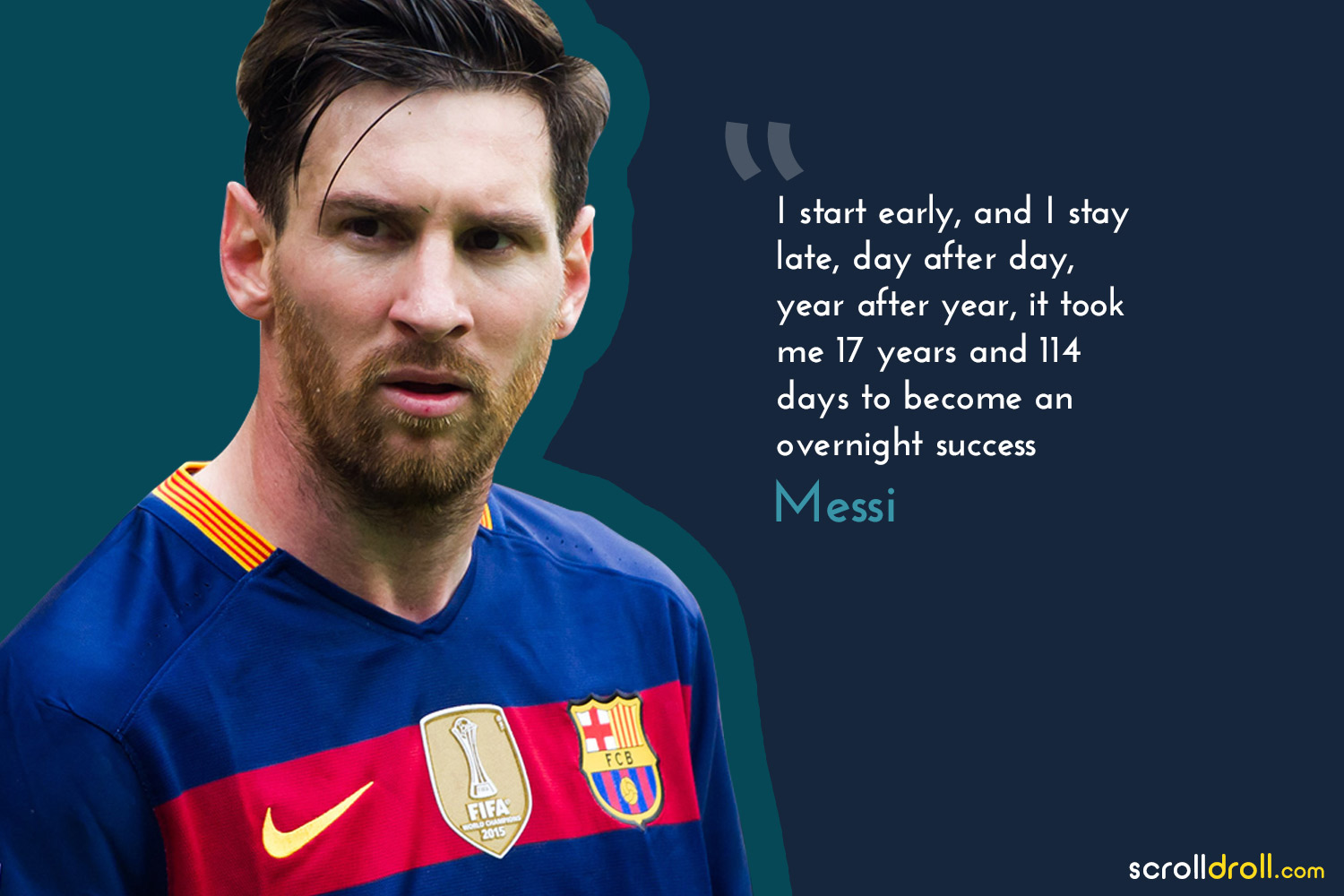 Powerful Quotes By Successful People- quote by messi
