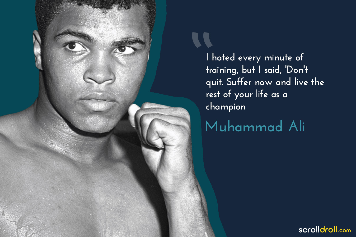 Powerful Quotes By Successful People-muhammad ali quotes