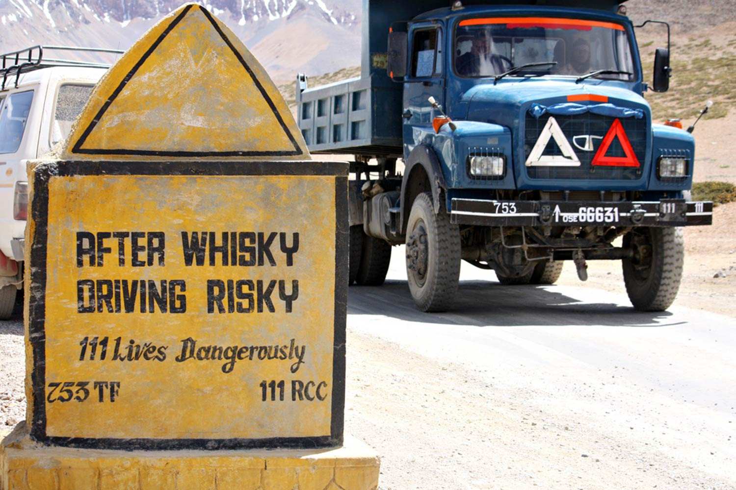 Funny Signboards-after whisky drving risky