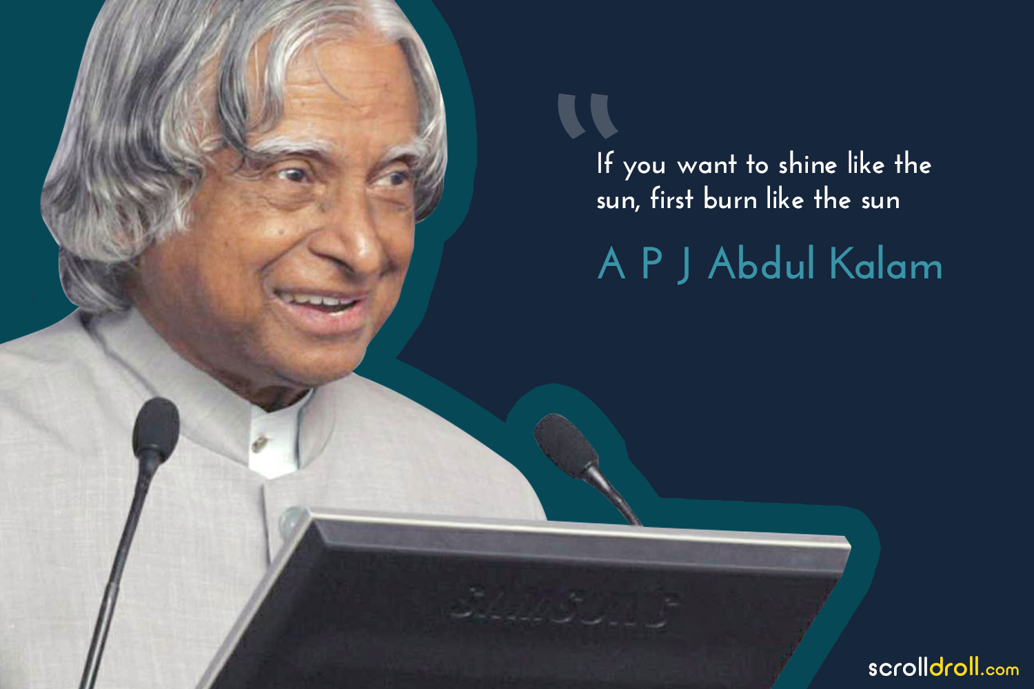 Powerful Quotes By Successful People-quote by apj abdul kalam
