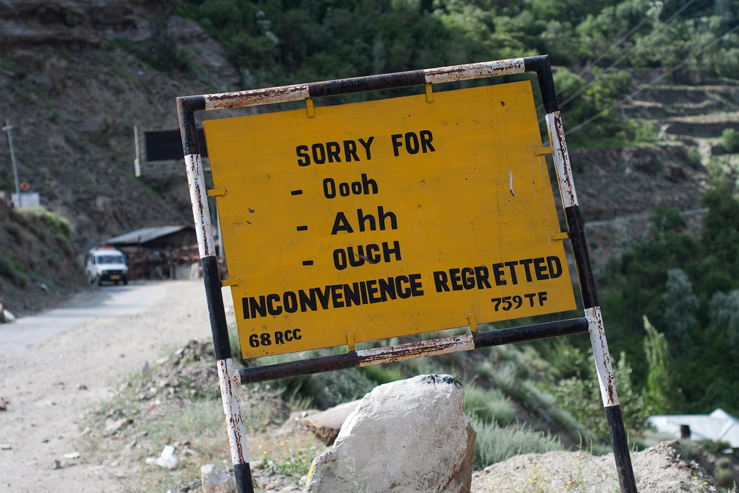 Funny Signboards-Inconvenince regretted