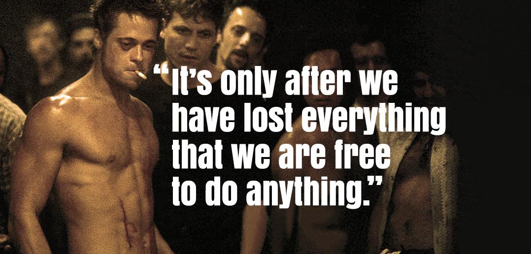 Fight Club Zitate Englisch