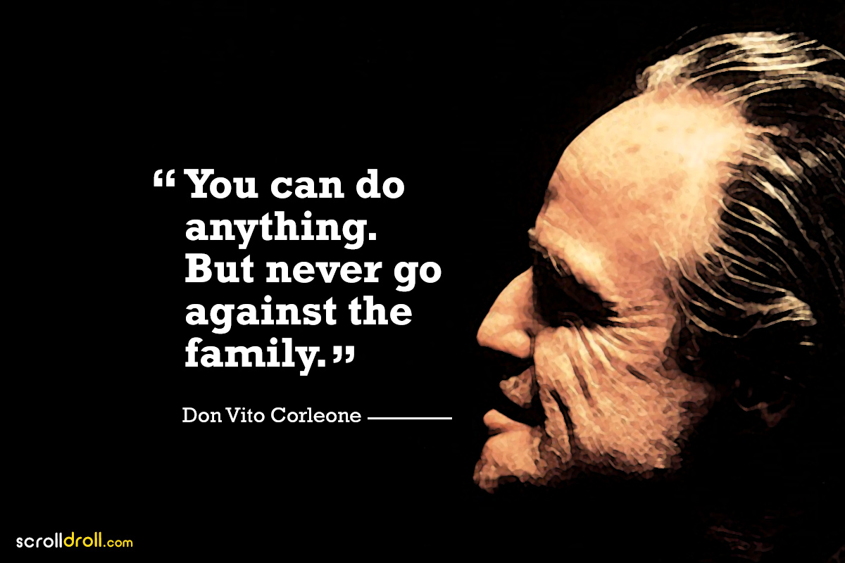 Quotes vito favor corleone The Godfather