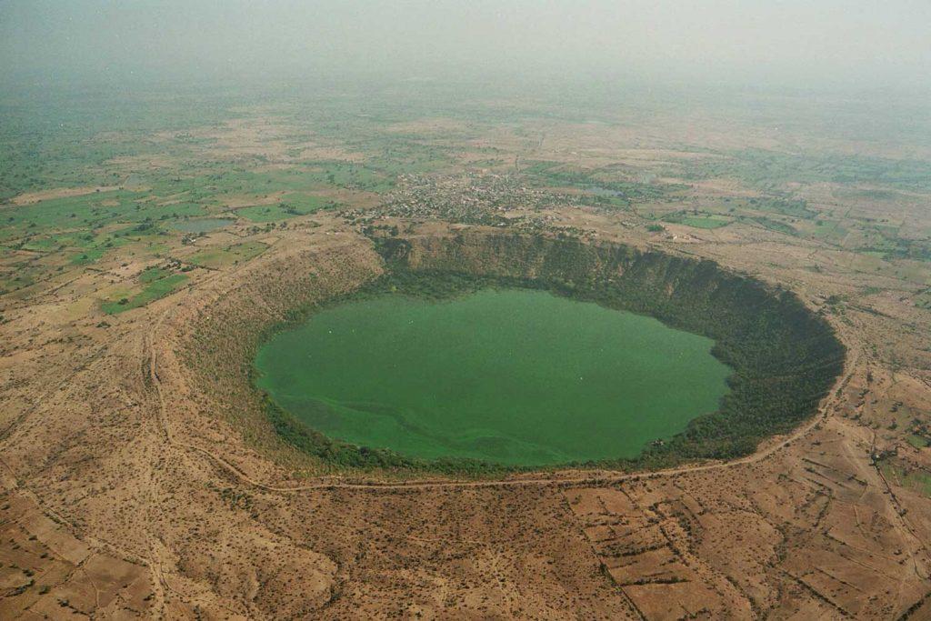 India Natural Wonders - Lonar Crater Lake