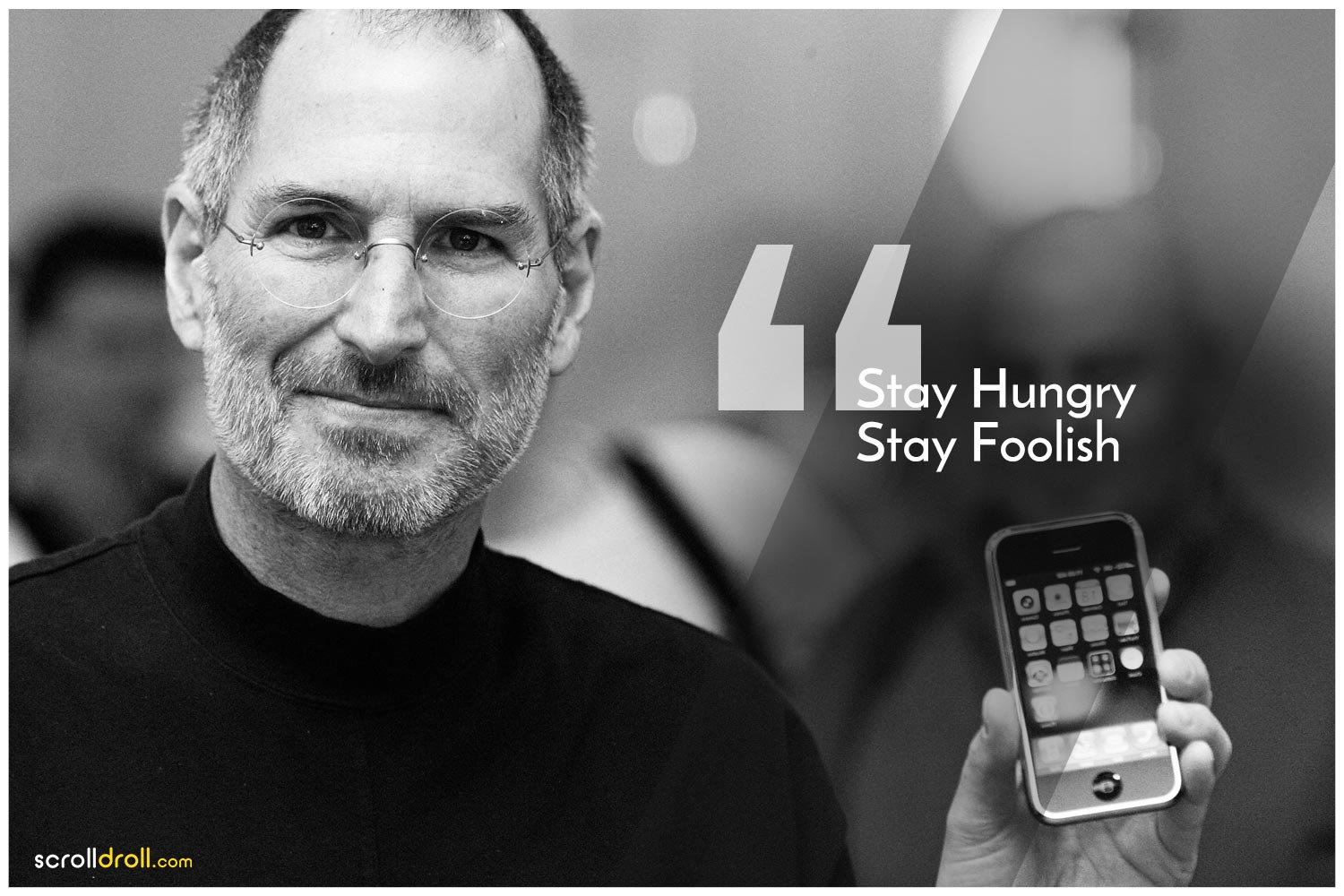 -Steve Jobs Quotes- Stay Hungry Stay Foolish