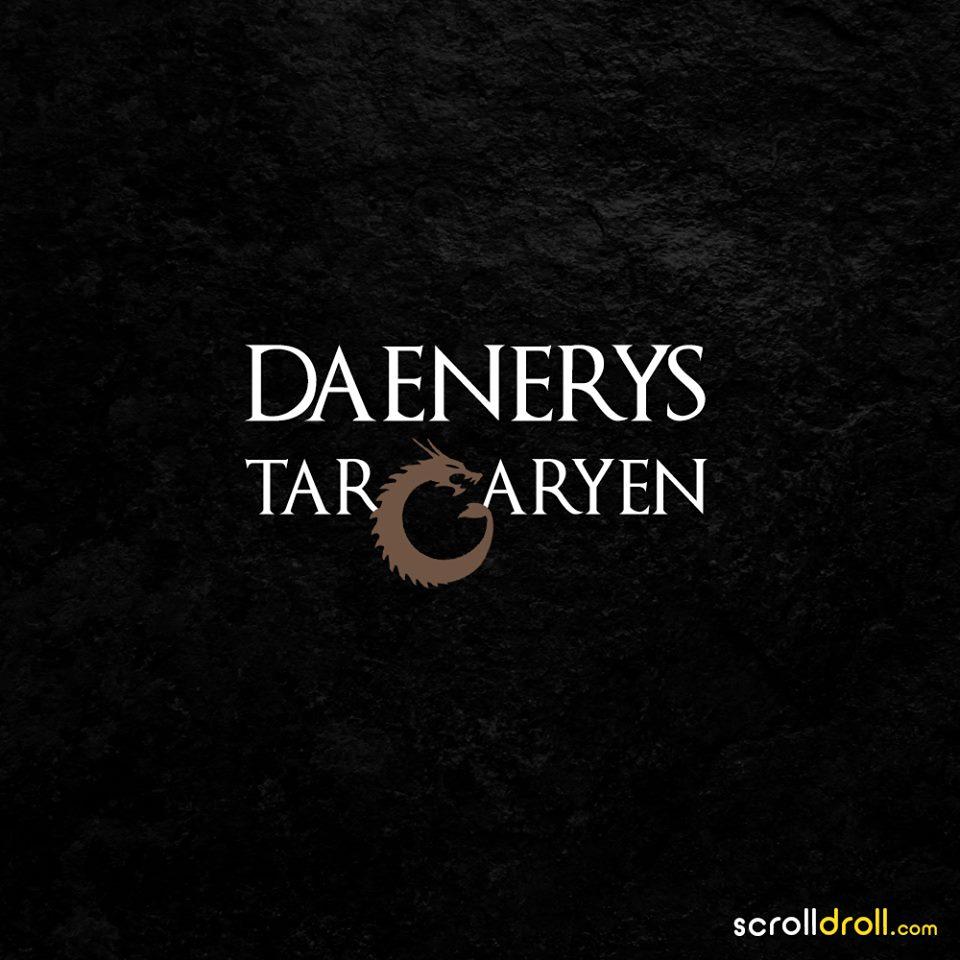 daneerys targaryen-game of thrones minimal