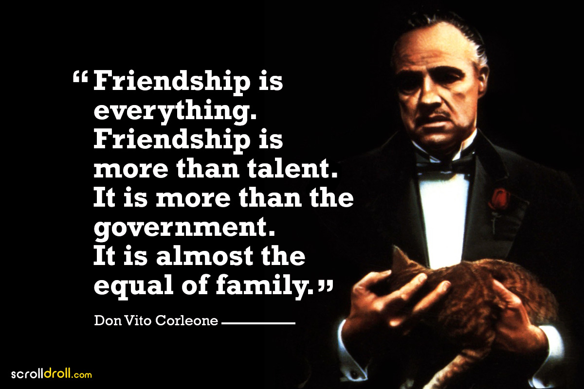 16 Powerful Quotes Amp Dialogues From The Godfather