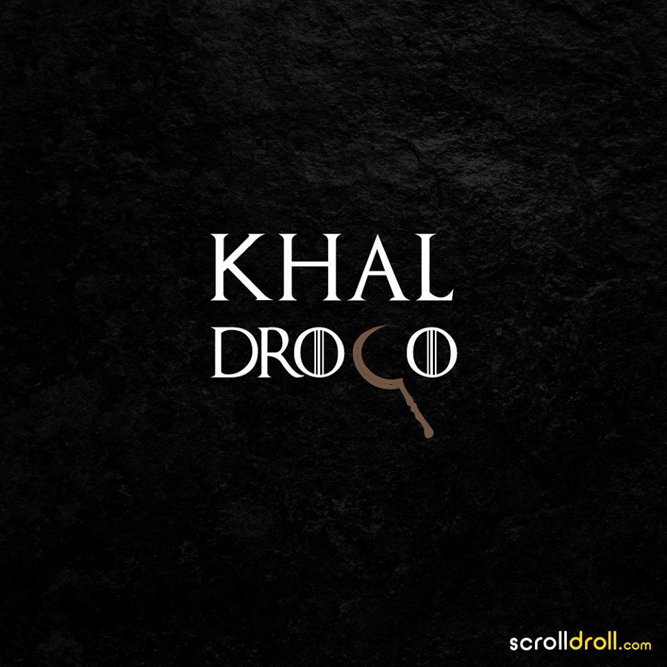 Khal drogo-minimal-game of thrones-wallpaper