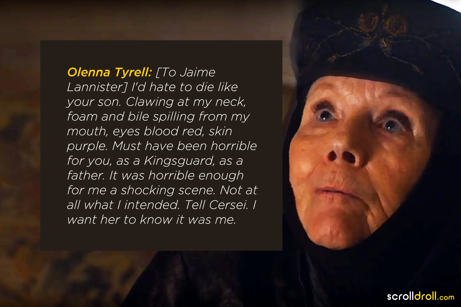 Citate Fotografie Queen : Most badass quotes from olenna tyrell the queen of sass