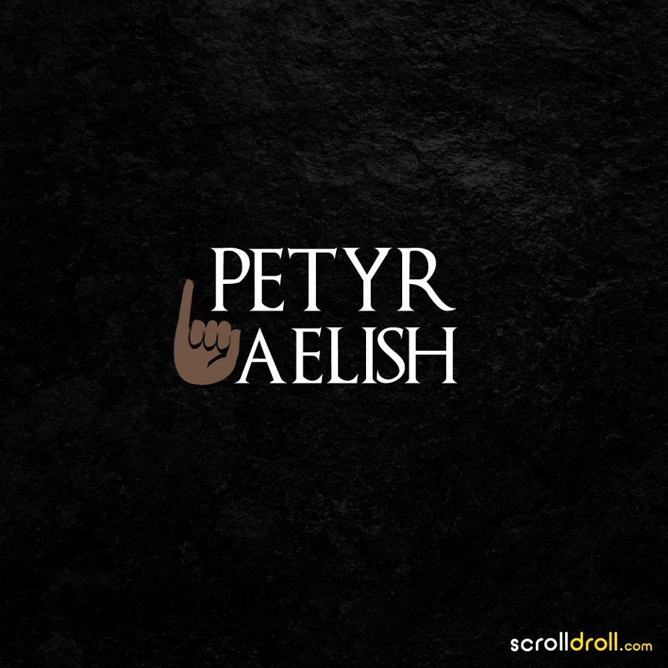 petyr belish-game of thrones minimal