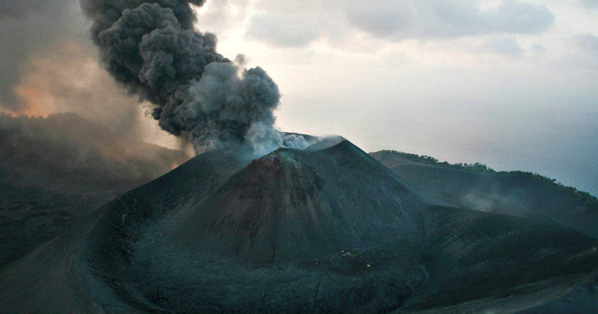 South Asia's Only Active Volcano-Incredible Natural Wonders in India