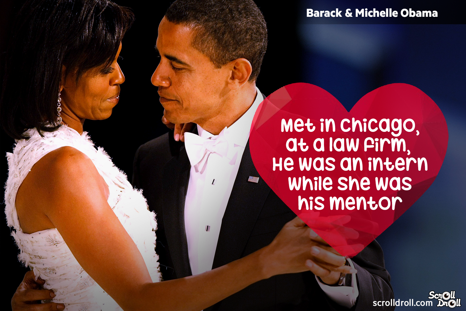 How These Famous Couples Met- Barack & Michelle Obama