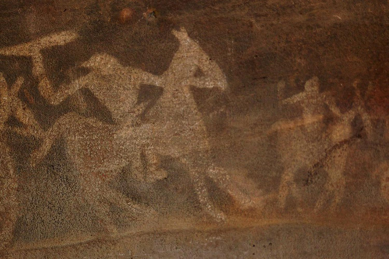 Interesting Places In India-Oldest Rock Art in The World: Bhimbetka