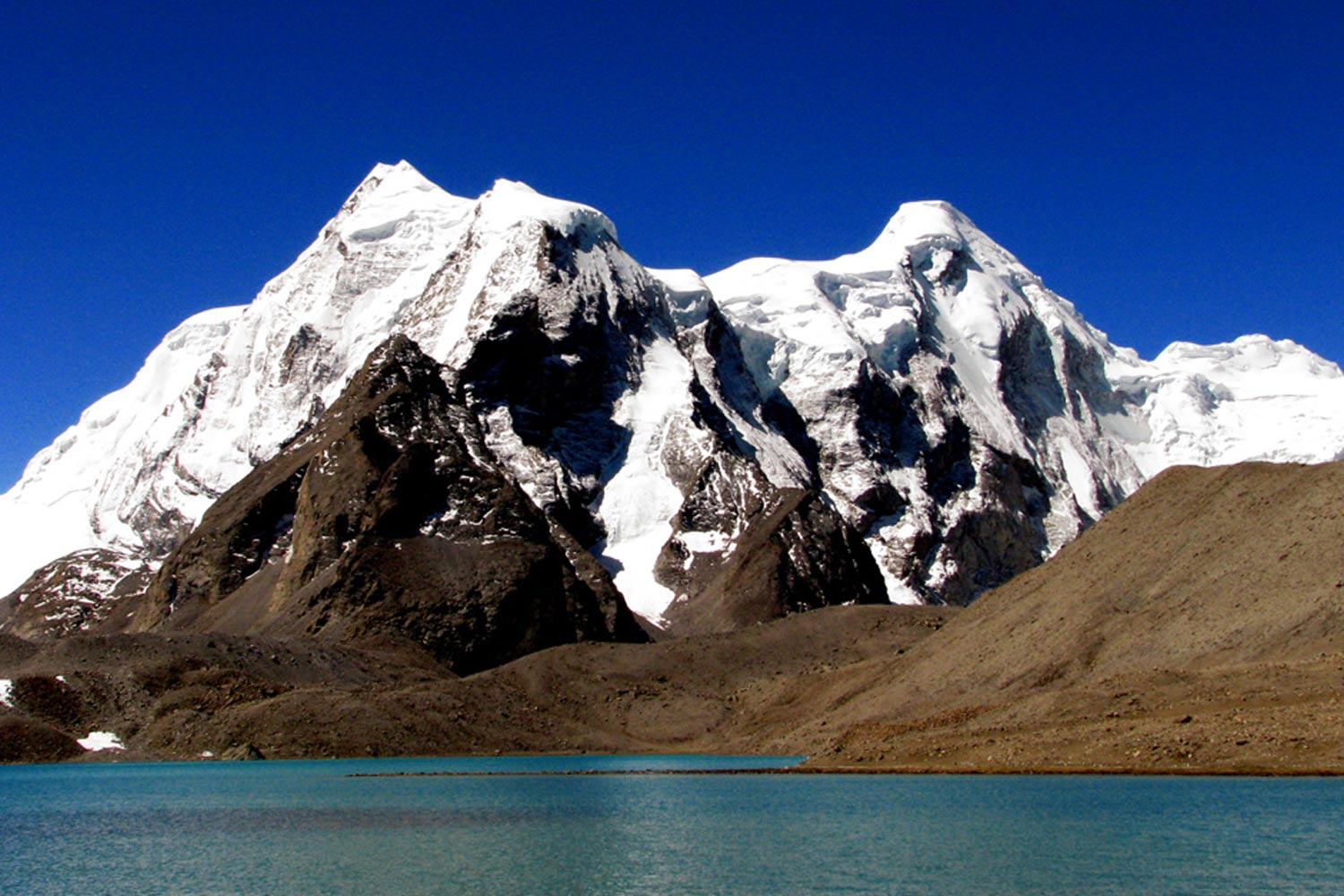 Interesting Places In India- India's highest lake: Tso Lhamo lake in Sikkim
