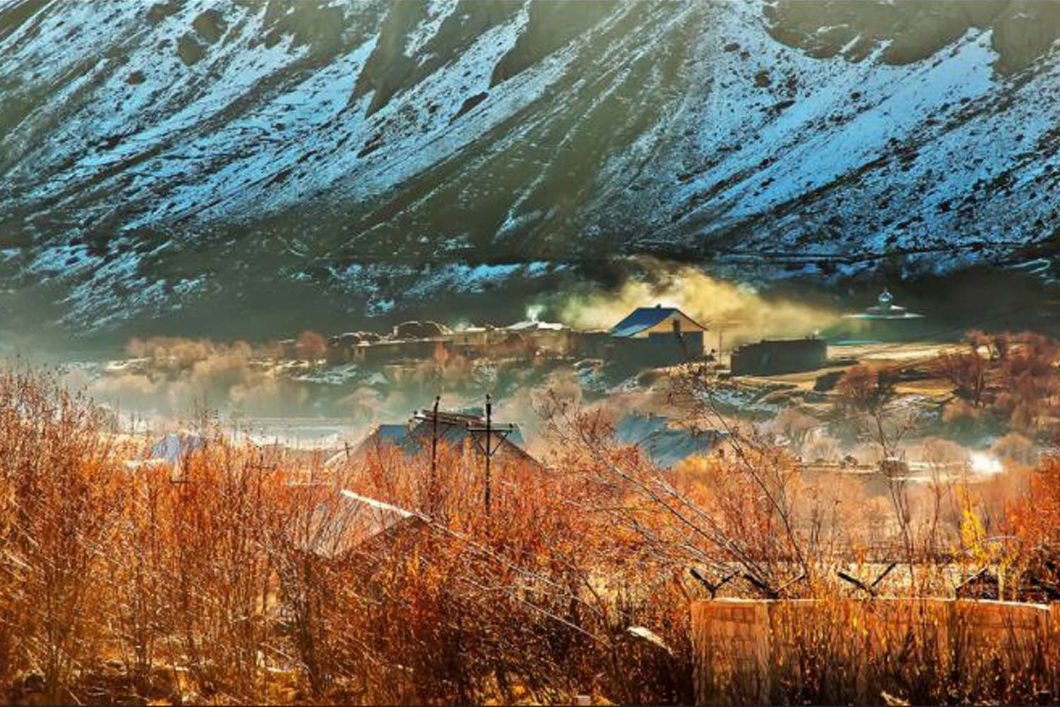 Interesting Places In India- Second coldest inhabited place in the world & coldest place in india: Drass