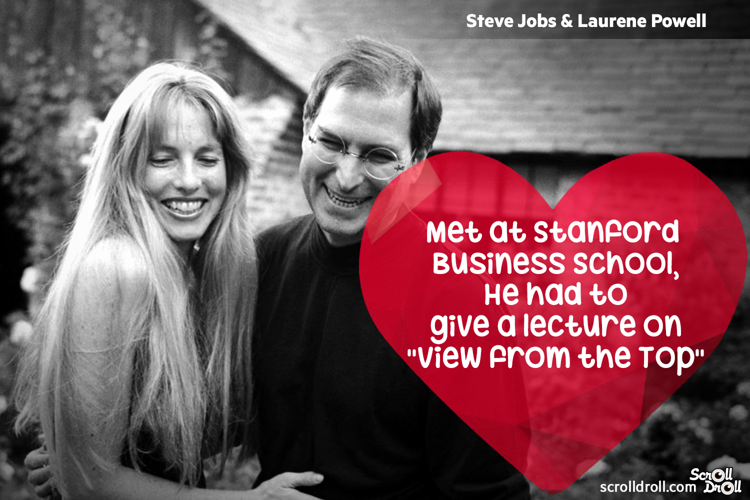 How These Famous Couples Met-Steve jobs and laurene powell