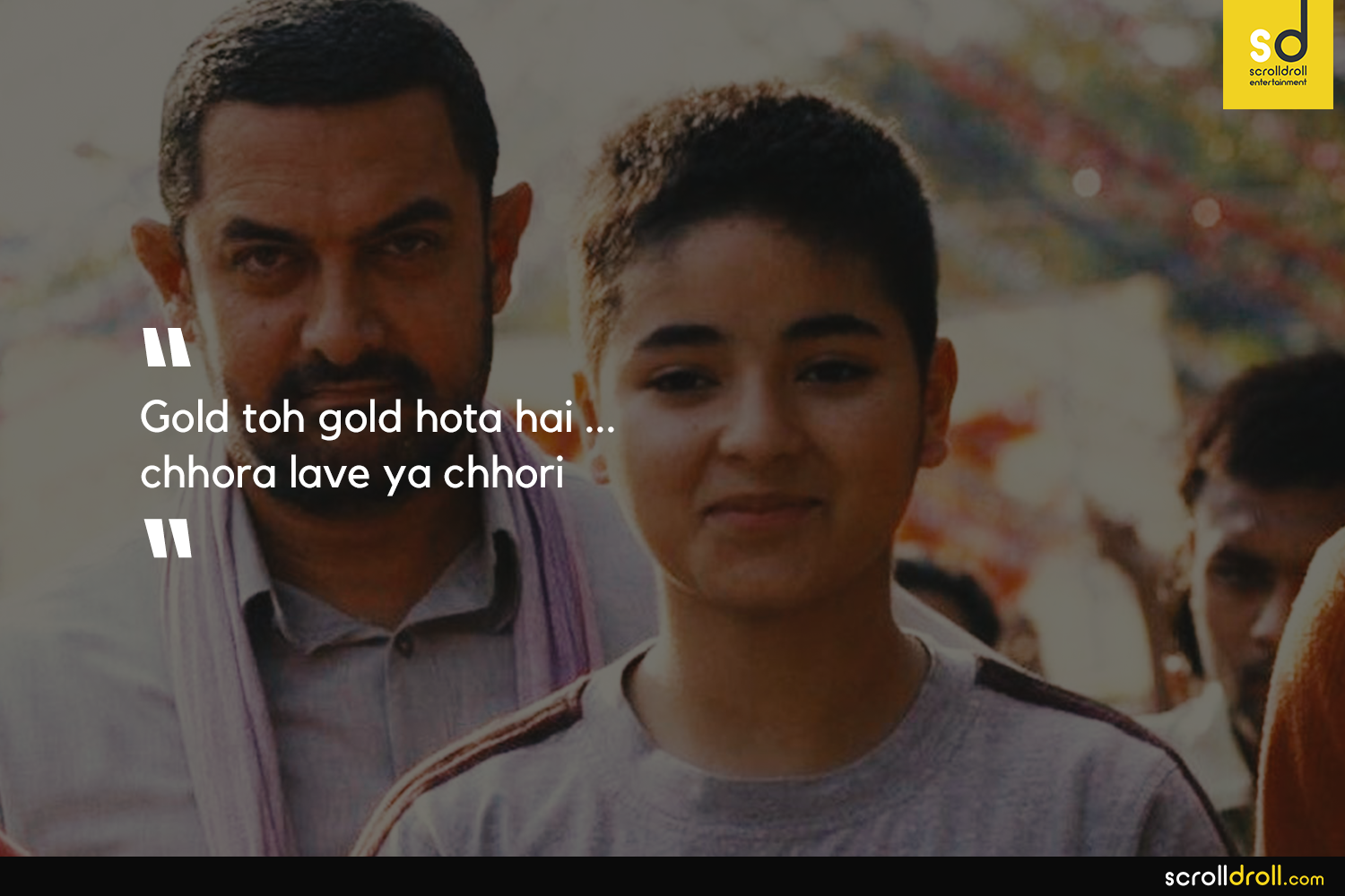 Image result for Dangal gold to gold hota hai