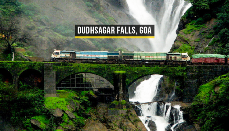 Dudhsagar-Falls, Most Beautiful Waterfalls – Featured