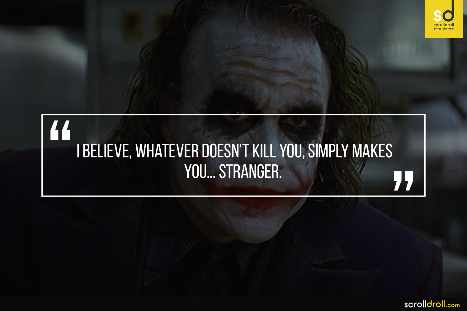 Joker Quotes: 14 Quotes From The Joker Which Prove Why He Makes More