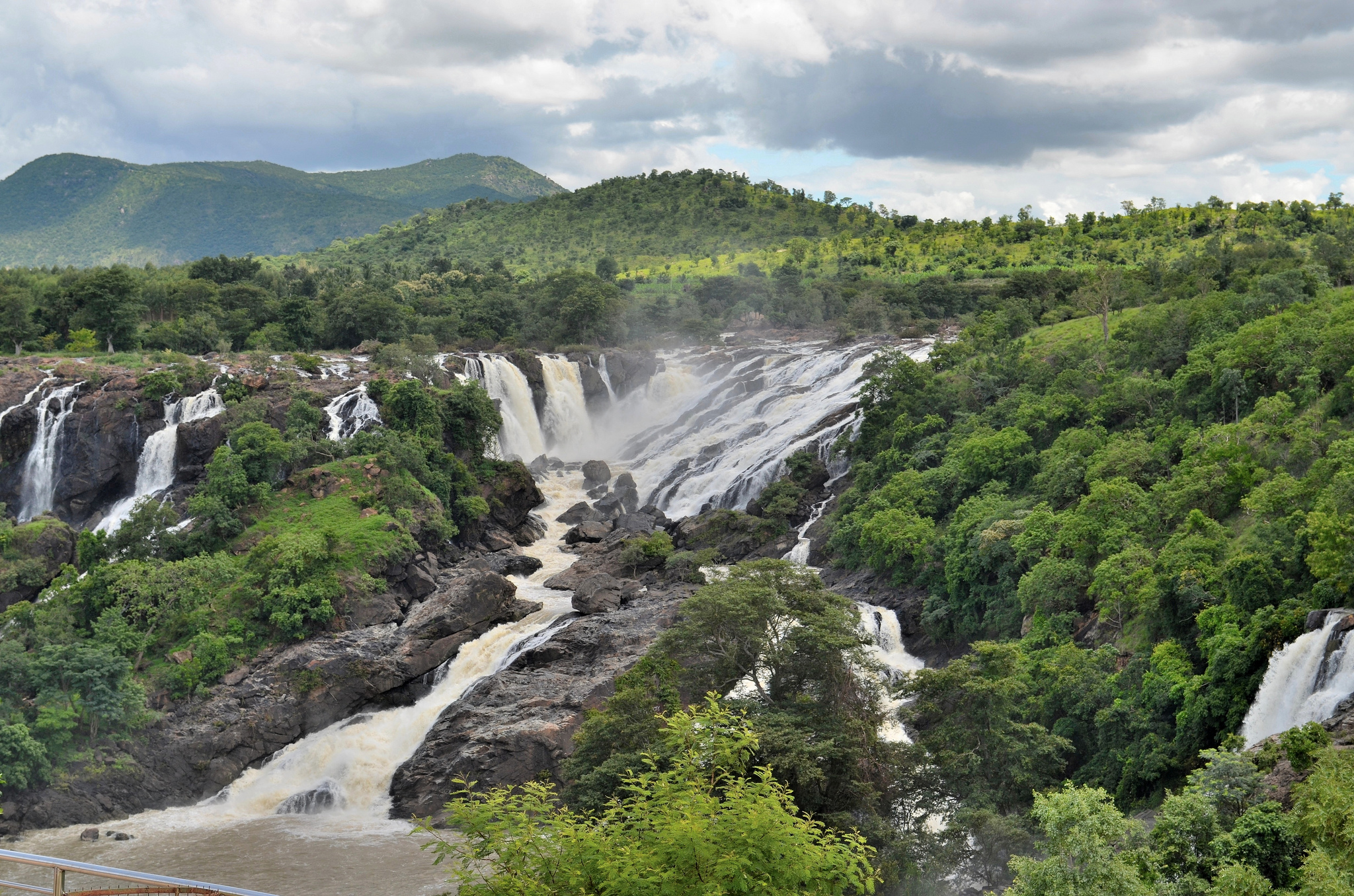 Shivanasamudra Falls, Karnataka – Most Beautiful Waterfalls Of India