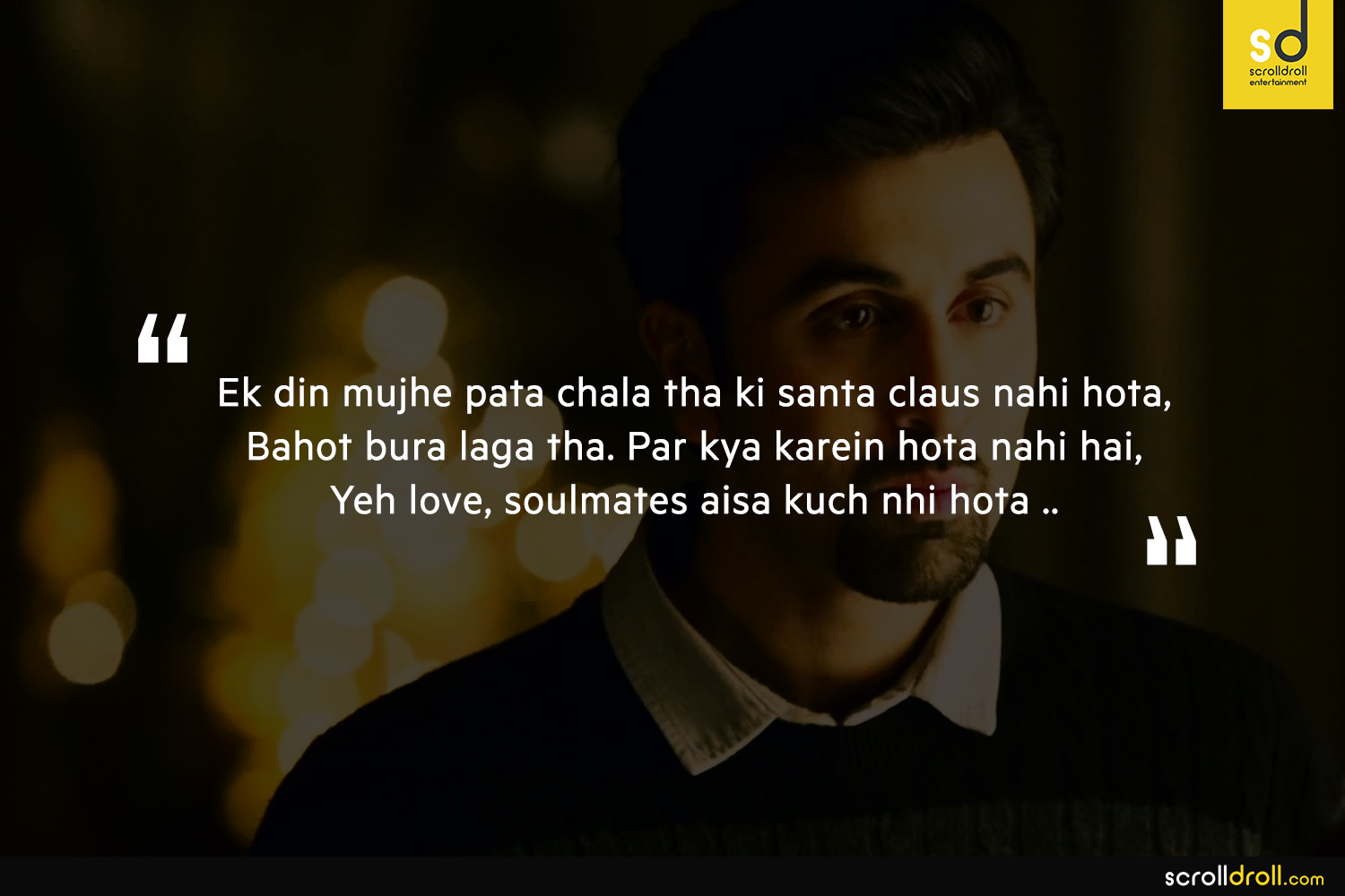 Free Thought Quotes From Movies: 7 Most Thought Provoking Dialogues From The Movie Tamasha
