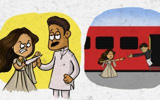 This New Spoof of the Classic DDLJ Scene is a Laughter Riot