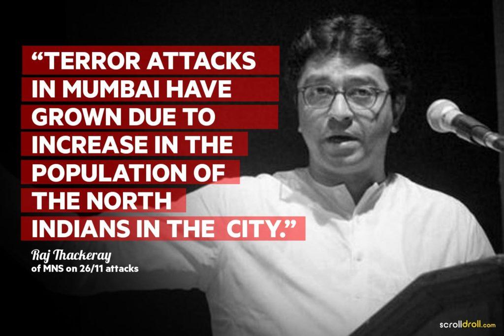 Raj Thackeray Controversial