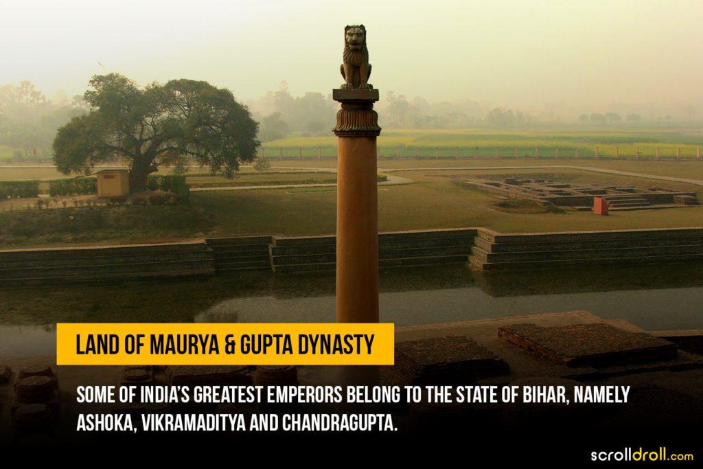 Land of Maurya and Gupta Dynasty