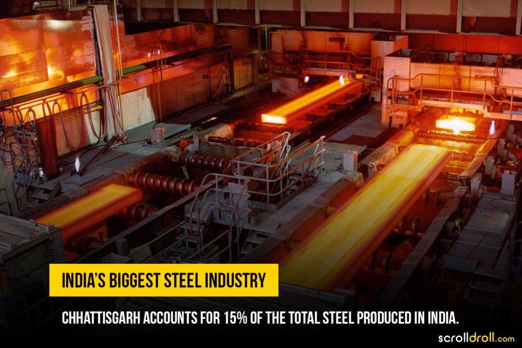 India's boggest steel industry
