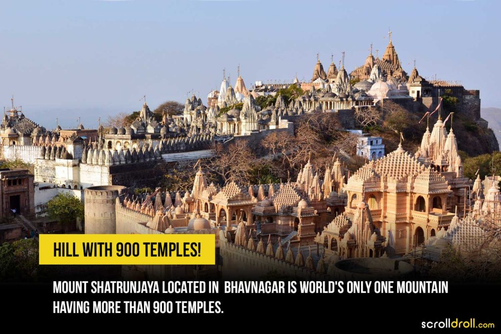 Hill with 900 temples