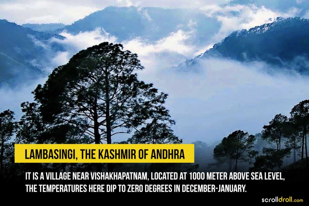 Lambasingi, The Kashmir of Andhra