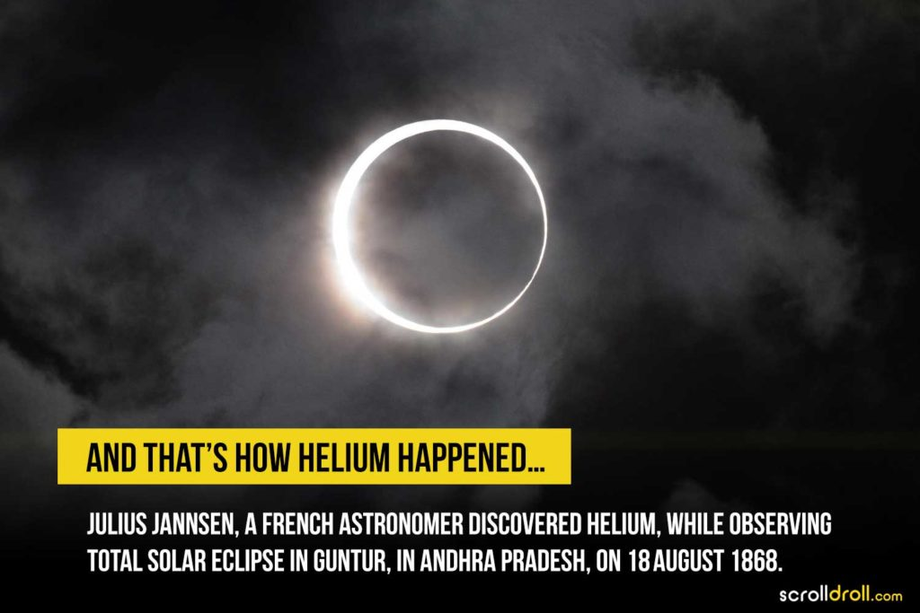 that's how helium happened