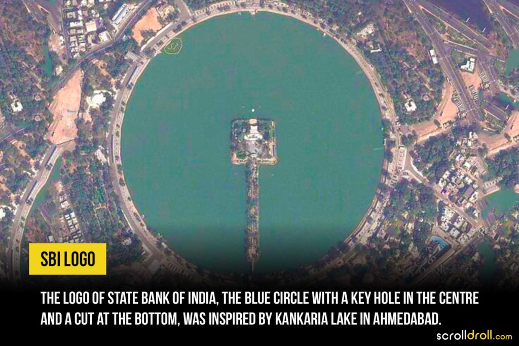 SBI Logo was inspired by Kankaria Lake