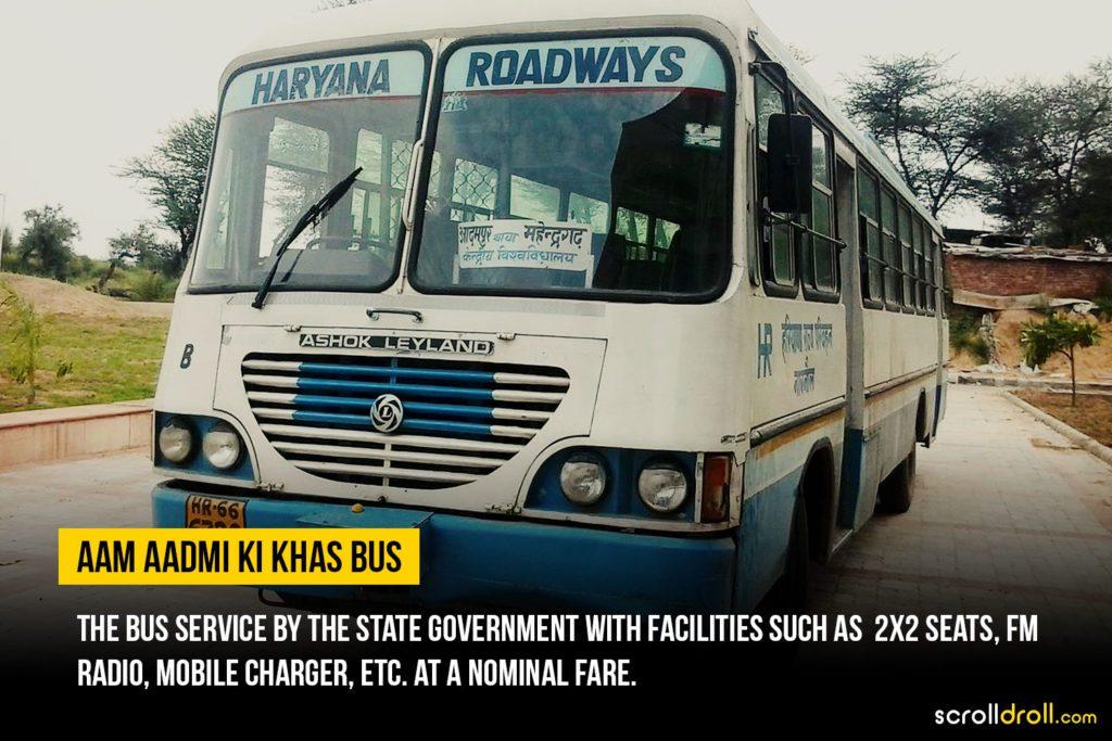 Haryana Bus service