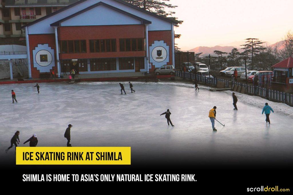 ICE Skating Shimla