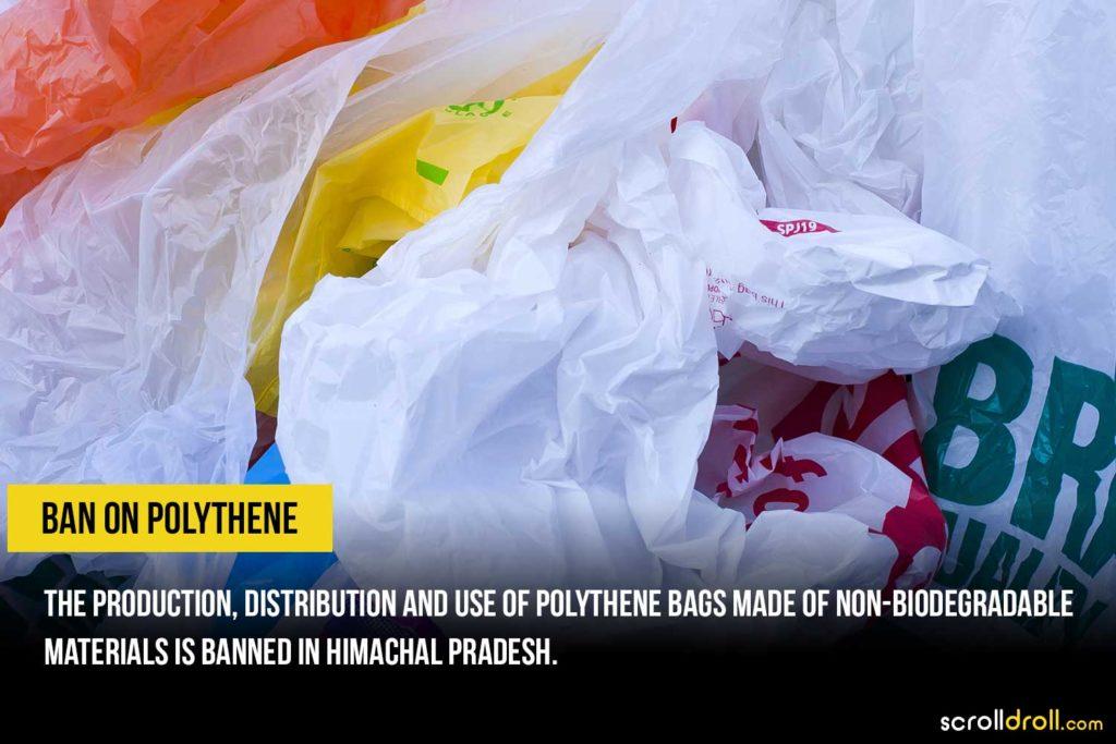 Polythene banned in Himachal Pradesh