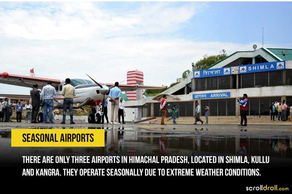 Seasonal Airport of Himachal Pradesh