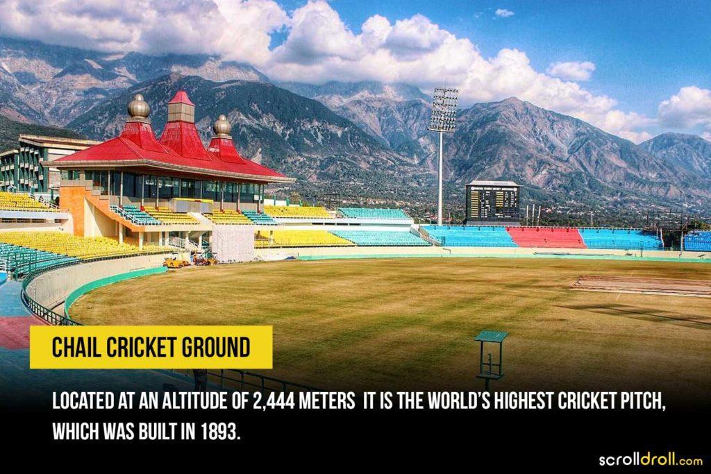 World's highest cricket pitch