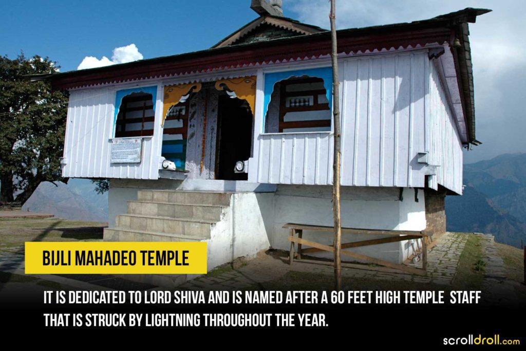 Bijli Mahadeo temple