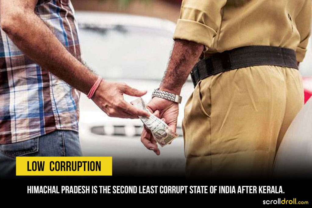 Low corruption State