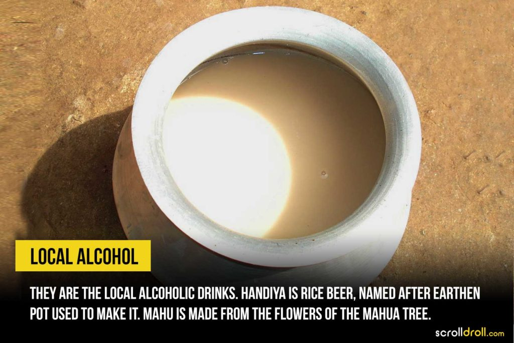 Local alcohol drinks of Jharkhand