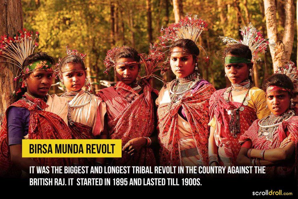 Birsa Mundra revolt