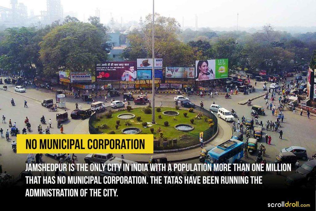 No municipal corporation