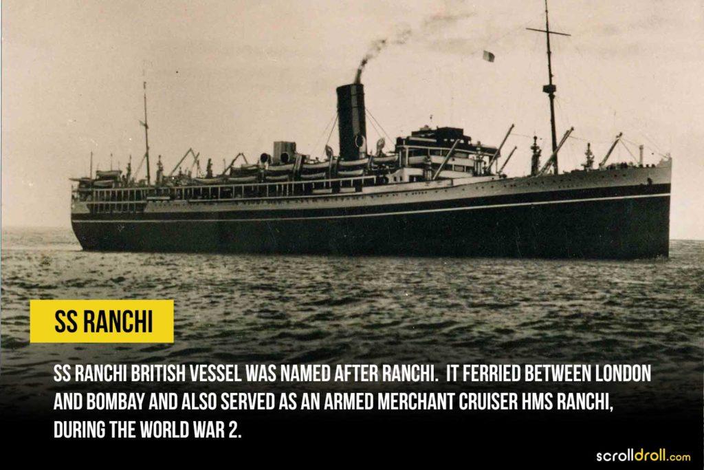 SS Ranchi