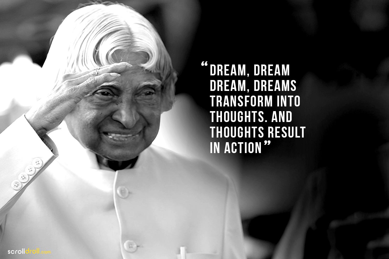 12 Inspiring Apj Abdul Kalam Quotes On Life Dreams Success More