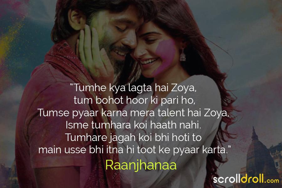 Raanjhanaa In Hindi Avorhasa S Ownd